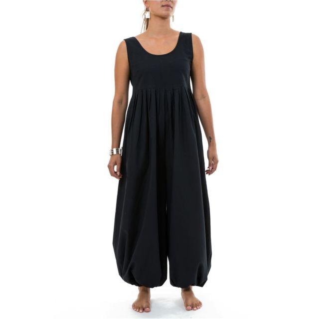 du 34 au 46 Combi Femme Classique Comfortable Blanc COMBINAISON SAROUEL d/'été