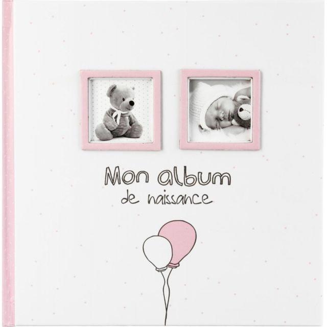 Album de naissance - 120 photos - Rose