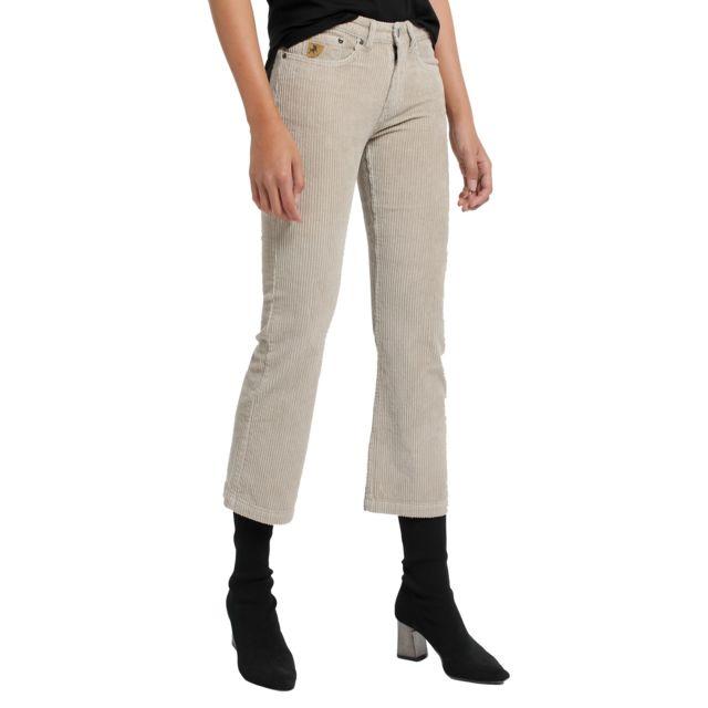 Lois Pantalon Velours Beige Pana-Coty 582