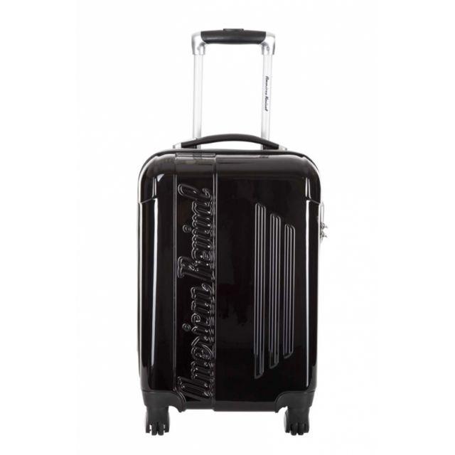 american revival valise cabine commodore noir taille s 22cm 6 248740 valises. Black Bedroom Furniture Sets. Home Design Ideas