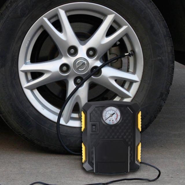wewoo dc12v 120w gonflage des pneus et liighting 2 en 1 voiture air comperssor 12 volt version. Black Bedroom Furniture Sets. Home Design Ideas