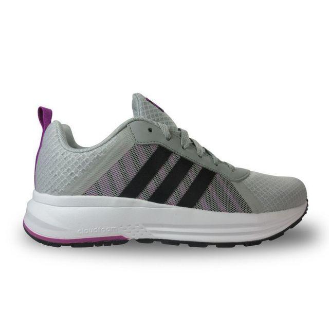 03b14fdad3 Adidas - Chaussure femme cloudfoam mercury néo - pas cher Achat / Vente Baskets  femme - RueDuCommerce