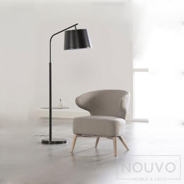 Nouvomeuble Fauteuil gris design Amiens