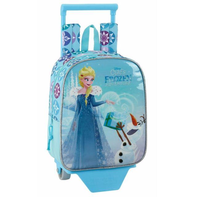 ec24d834f372ce Enchantimals - Sac à roulettes La reine des neiges Frozen 28 Cm maternelle  Haut de Gamme
