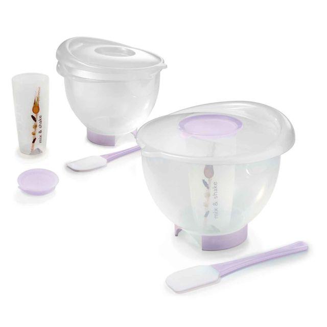 Astuceo Bol pâtissier 3 Litres + accessoires