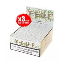 """Yeuf Papier A Rouler - Le Lot De 3 Boites De 50 Carnets De Yeuf Slim """"PURE"""" 32F/CARNET, Feuilles A Rouler"""