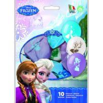 Sans Marque - Lot De 10 Ballons Frozen La Reine Des Neiges