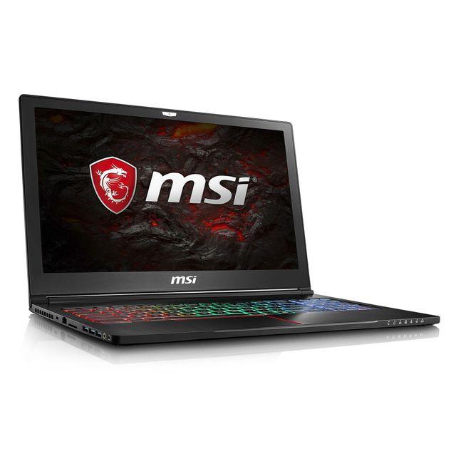 MSI GS63VR 7RG-008FR Stealth Pro 4K Edition - Noir