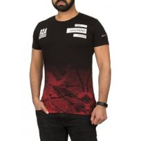 Beststyle - Tee shirt homme moulant noir