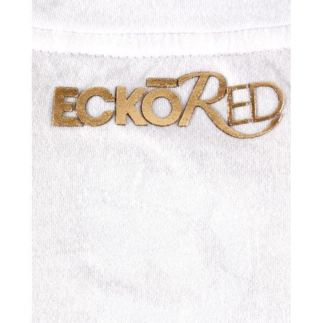 Ecko - Top Red Moto Rhino Crew blanc, or