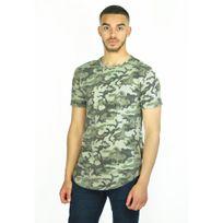 Mentex - T-shirt long militaire streetwear Soldado fabrication Italie