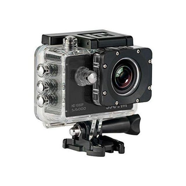 Totalcadeau Camera sportive Hd ultra haute définition de 14 mégapixel 2 pouces couleur noire - Caméra sport