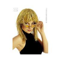 Widmann - Perruque Lamée Or - Disco