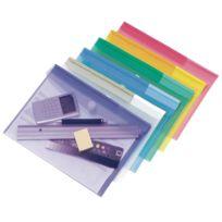 Tarifold - enveloppe polypropylène a4 past coloris assortis - paquet de 12