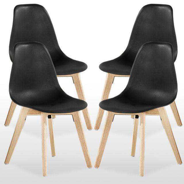 Home Design International Rico Lot de 4 Chaises