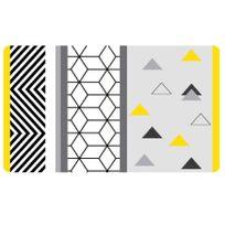 Douceur D'INTERIEUR - Set de table 28 x 44 cm opaque yellow mix blanc