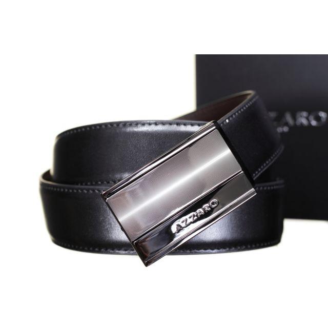 69bd7a72b5ed Azzaro - 21340 Reversible Noir Marron Taille unique - pas cher Achat ...