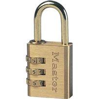 Master Lock - Cadenas à combinaison 30 mm
