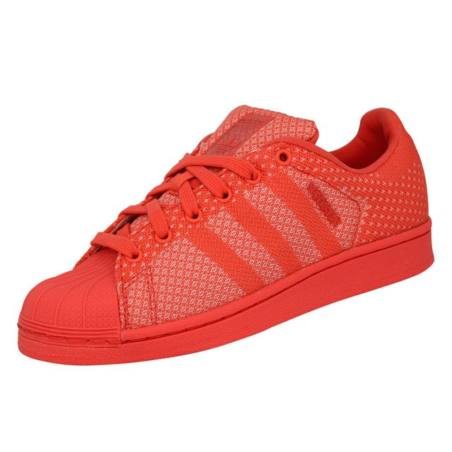 new concept 69426 62524 Adidas originals - Adidas Originals Superstar Weave Chaussures Mode  Sneakers Unisex Rouge