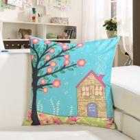 impression sur coussin achat impression sur coussin pas cher rue du commerce. Black Bedroom Furniture Sets. Home Design Ideas