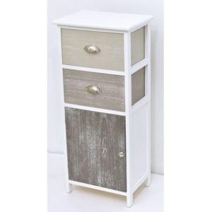 tendance meuble 2 tiroirs 1 porte taupe pas cher achat vente meuble bas salle de bain. Black Bedroom Furniture Sets. Home Design Ideas