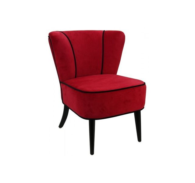 CHLOE DESIGN Fauteuil Robin - rouge