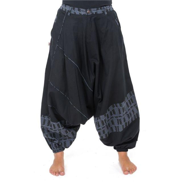 Fantazia - Pantalon sarouel mixte urban ethnique no - pas cher Achat ... 0bd47b89136