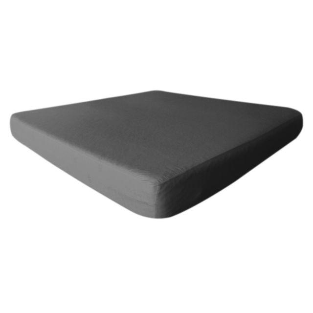 altobuy fresh drap housse 90x200cm gris imperm able et respirant 90cm x 200cm pas cher. Black Bedroom Furniture Sets. Home Design Ideas