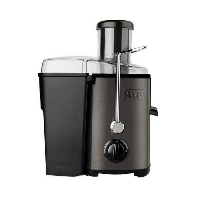 Black & Decker centrifugeuse 0.55l 600w noir/gris - bxje600e