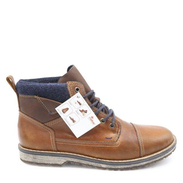 Rieker Boots Russia Marronmulticolor pas cher Achat