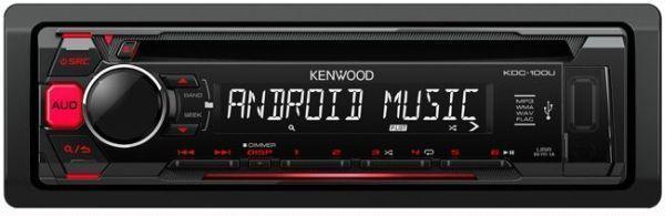 Kenwood Autoradio Mp3 Kdc-100UR