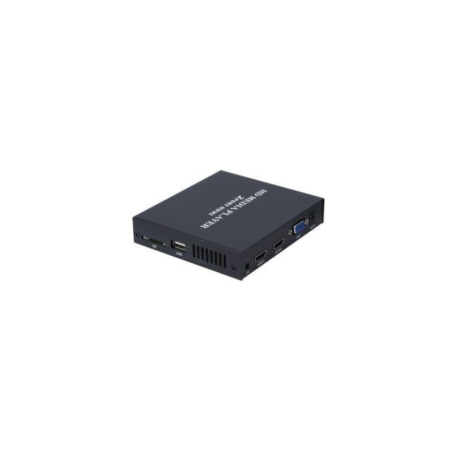 Auto-hightech Box Tv 1080P avec Lecteur multimédia et 2 ports Hdmi - Prise Ue