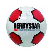 Derbystar - Brillant Super Light Ballon de football Enfant Blanc/Rouge/Noir 4