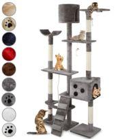 Leopet - Arbre à chat hauteur plafond pour jouer et se détendre coloris au choi