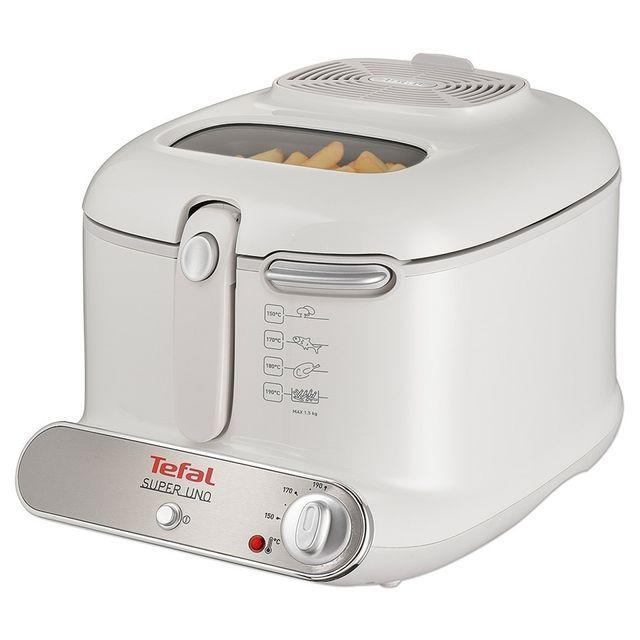 TEFAL Friteuse - 1.4Kg - 1800W - Blanc