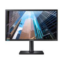 Samsung - Moniteur 23' Led - S23E650D 1920 x 1080 pixels - 4 ms gris à gris 16/9 - Pivot - Dalle Pls - DisplayPort - Hub Usb - Noir