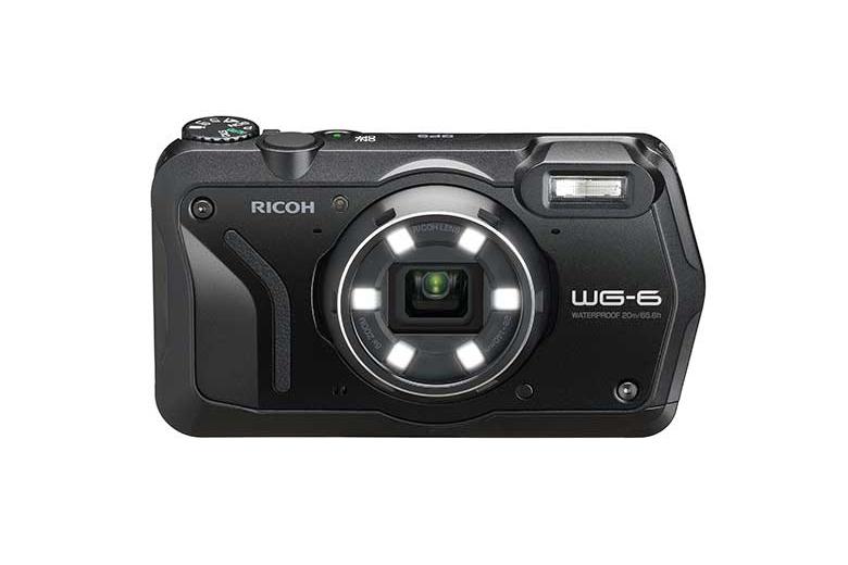 Appareil photo compact WG-6 28 – 140 mm Ricoh Noir