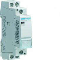 Hager - contacteur - 2 contacts nf - 25a - 230 volts