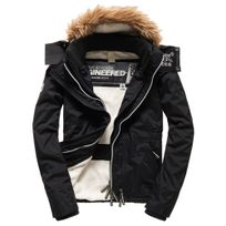Superdry - Hood Fur Sherpa Wind Attacker Blouson No Name