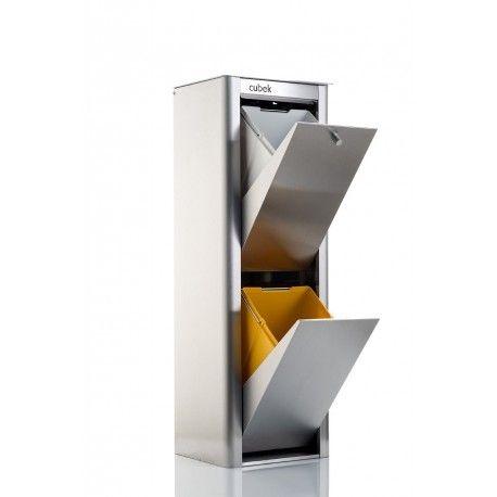 poubelle tri selectif inox - Achat poubelle tri selectif inox pas ... 064fb1dc5c6e
