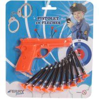 Sans Marque - Pistolet + 10 Flèches