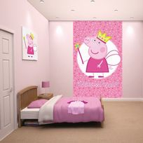 Comforium - Poster Mural Princesse peppa pig 305 cm x 244 cm
