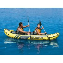 INTEX - Kayak gonflable 2 places Explorer K2