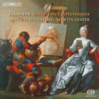 Bis - Georg Philipp Telemann - Ouvertures pittoresques Boitier cristal