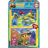 Educa Borras - 16160 - Puzzle Classique - Pacman - 2 X 100 PiÈCES
