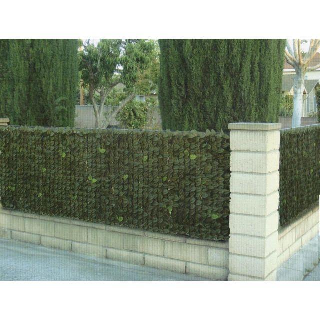 10 sur euro castor green haie de laurier artificiel en rouleau avec maillage vendu par. Black Bedroom Furniture Sets. Home Design Ideas