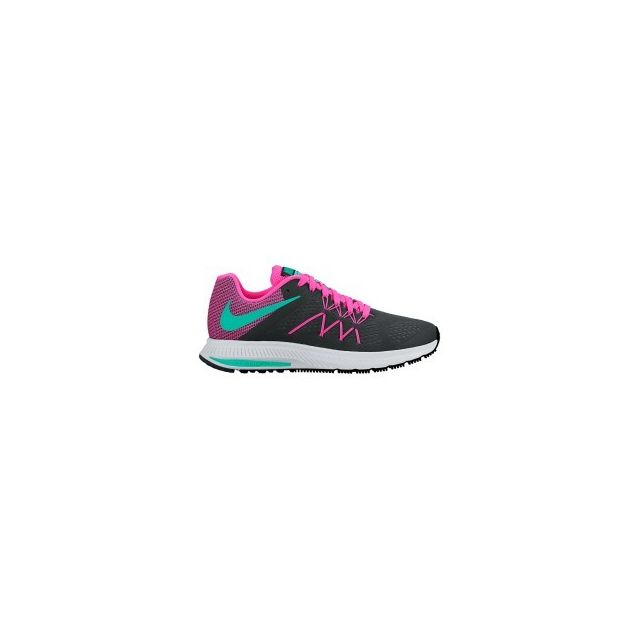 Nike Chaussures Zoom Winflo 3 noir rose femme pas cher Achat