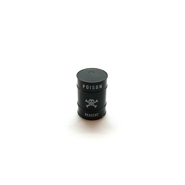 Smoke Pas Cher Grinder 3 parts diamètre 43 mm Fût métal / Tank noir