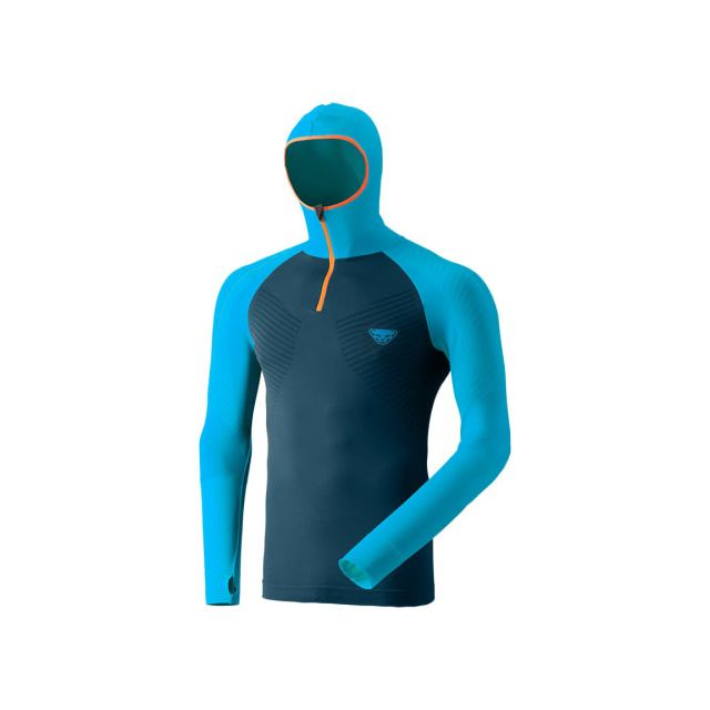 Dynafit Maillot de corps Ft Dryarn Warm bleu orange