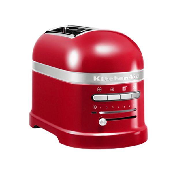 KITCHENAID grille-pains 2 fentes 1250w rouge empire - 5kmt2204 eer